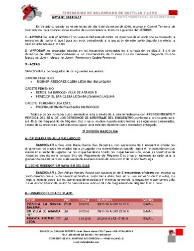 ACTA territorial 10