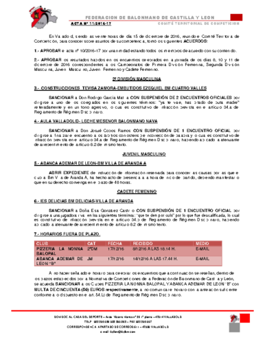 ACTA territorial 11