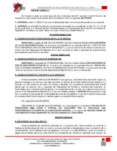 ACTA territorial 12