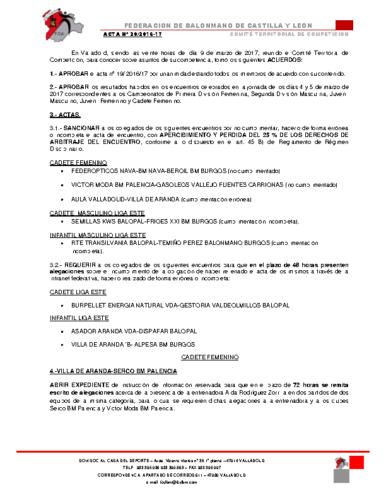 ACTA territorial 20