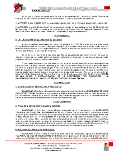 ACTA territorial 23