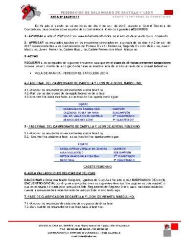 ACTA territorial 24