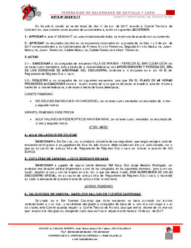 ACTA territorial 25