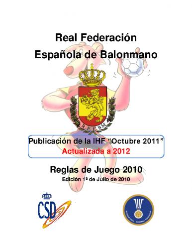 Publicacion IHF 2011 actualizada 2012