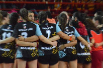 Selección Castilla y León femenina.