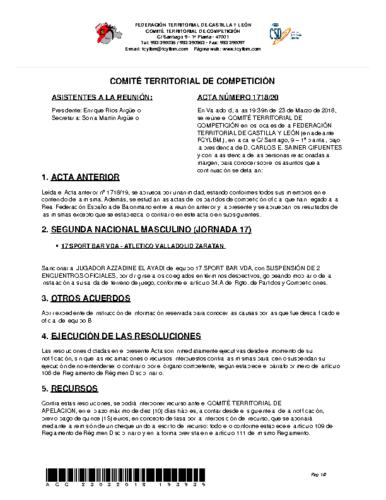 ACTA Nº 20