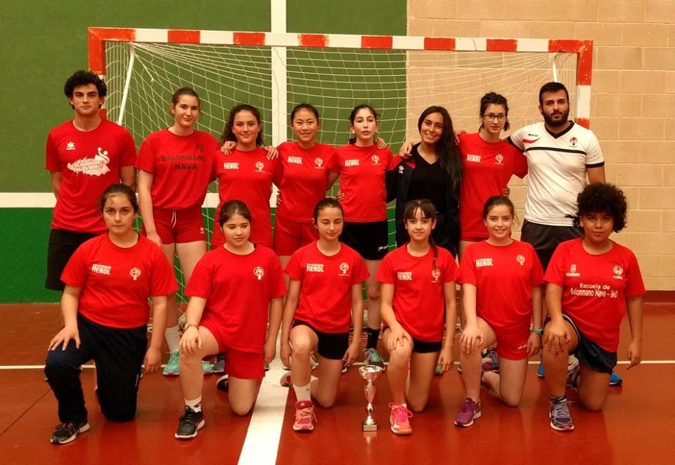 Tercer clasificado femenino: Segovia.