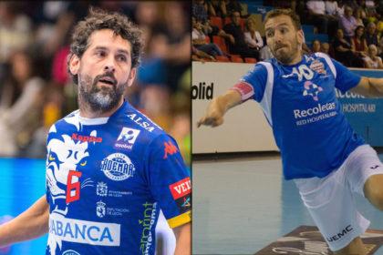 A la izquierda, Juanín García, a la derecha, Fernando Hernández.