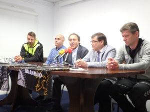 Óscar Perales, Juan Carlos Pastor, Borja Lara, Carlos Sainer y Ingi Olsen.