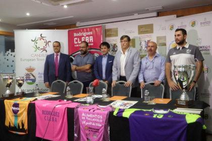 Presentación de la I Copa Castilla y León Femenina.