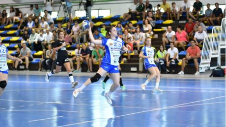 Momento de la final de la I Copa Castilla y León femenina. Foto: Pablo Riega.
