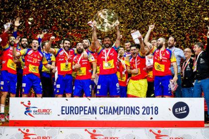 Selección Española de Balonmano, Campeona de Europa.