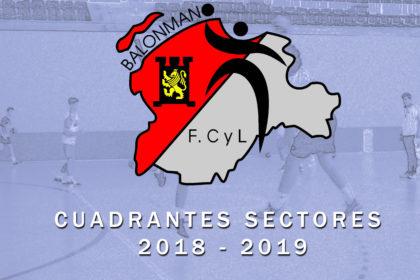 CUADRANTES SECTORES 2018-2019