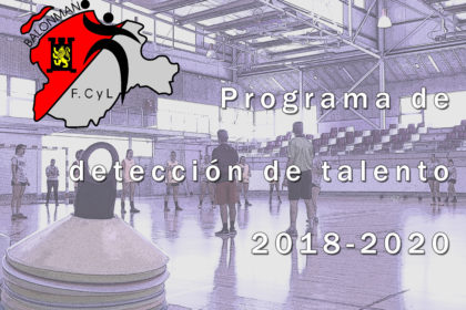 Programa de detección de talento 2018-2020.