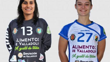 Lourdes Guerra y Elena Cuadrado.