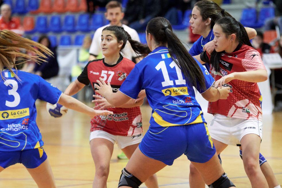 Infantil femenino Castilla y León - Canarias