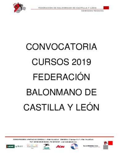 OFERTA CURSOS 2019