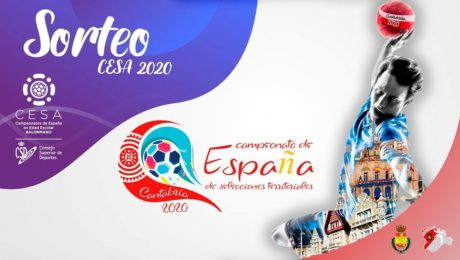 Sorteo CESA 2019/2020