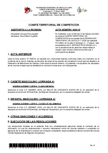ACTA 19
