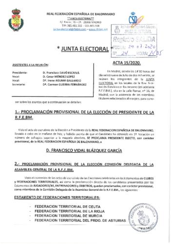 ACTA NUM. 15. 29.07.2020