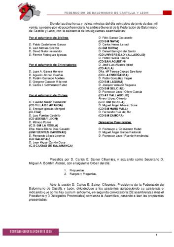 ACTA ASAMBLEA TELEMATICA 2020