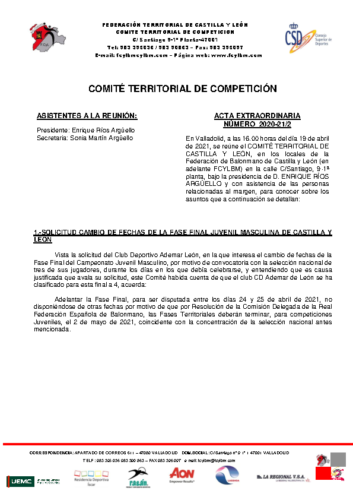 ACTA EXTRAORDINARIA 02