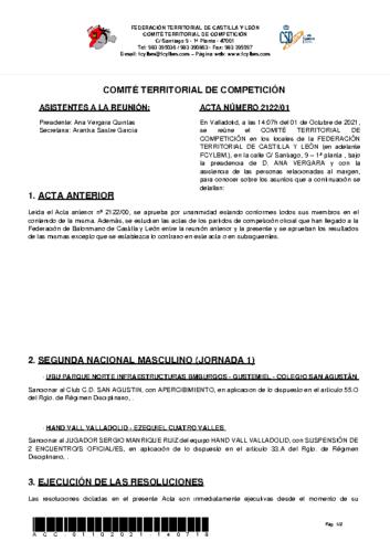 ACTA 01 – 01/10/2021